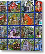 Coming Home Photo Assemblage In Asbury Grove In South Hamilton-massachusetts Metal Print