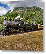Coming 'round The Mountain Metal Print