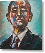 Commander In Chief Metal Print by Valdengrave Okumu