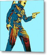 Commando Cody 2 Metal Print