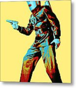 Commando Cody 3 Metal Print