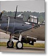 Commemorative Air Force - Douglas Sbd Dauntless Metal Print