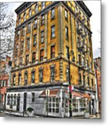 Commerce Street Architecture Metal Print