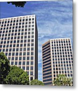 Commercial Office Building Metal Print
