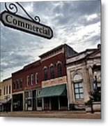 Commercial St Metal Print