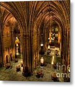 Commons Room Cathedral Of Learning University Of Pittsburgh Metal Print