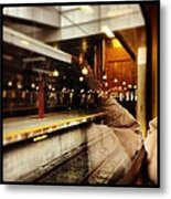 Commuter Life Metal Print