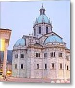 Como Cathedral Metal Print