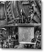 Comox Logging Engine No.11 Metal Print