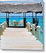 Tranquility At Compass Point, Nassau, Bahamas Metal Print