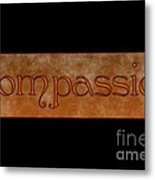 Compassion Metal Print by Peter R Nicholls