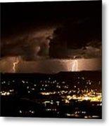 Competing Storms Metal Print