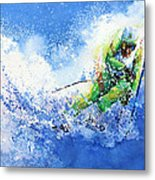 Competitive Edge Metal Print