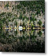 Complete Reflection Metal Print