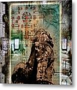 Composition Based On Angkor History Metal Print