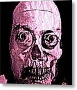 Compostite Self Portrait Fun Metal Print