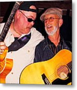 Con And Mark Metal Print