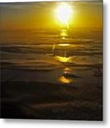 Conanicut Island And Narragansett Bay Sunrise II Metal Print