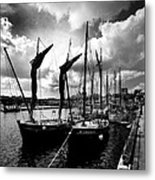 Concarneau Harbour Brittany France Metal Print