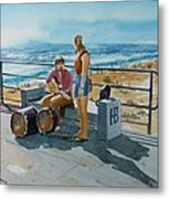 Concert In The Sun To An Audience Of One Metal Print