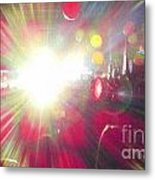 Concert Lights Metal Print