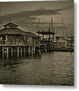 Conch House Marina Metal Print by Mario Celzner