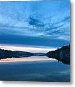 Concord Blue Hour Reflections Metal Print