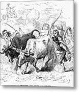 Concord: Evacuation, 1775 Metal Print by Granger