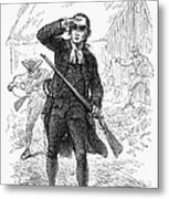 Concord: Minuteman, 1775 Metal Print by Granger