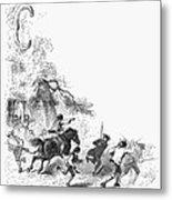 Concord: Minutemen, 1775 Metal Print