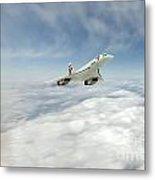 Concorde Legend Metal Print by J Biggadike