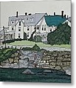 Concordville From Short Sands Metal Print