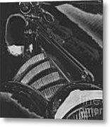 Concours At Dusk 1935 Auburn Speedster Metal Print