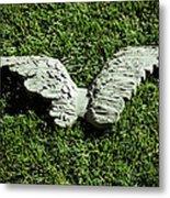 Concrete Angel Metal Print