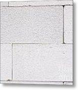 Concrete Blocks Texture Metal Print
