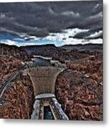 Concrete Canyon Metal Print