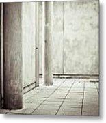 Concrete Space Metal Print