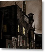 Condemned Metal Print by Colleen Kammerer