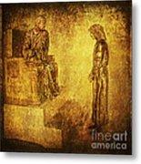 Condemned Via Dolorosa1 Metal Print by Lianne Schneider