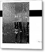 Condensed Window Metal Print by Xoanxo Cespon