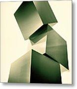 Condescending Cubes Metal Print by Bob Orsillo