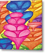 Cone Forest Metal Print