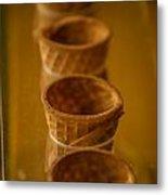 Cones On Display Metal Print