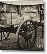 Conestoga Wagon Metal Print by Paul W Faust -  Impressions of Light