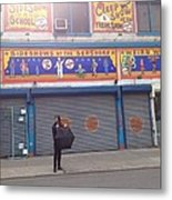 Coney Island Dreaming Metal Print