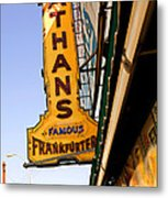 Coney Island Memories 1 Metal Print