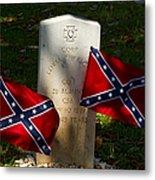 Confederate Grave   #2831 Metal Print