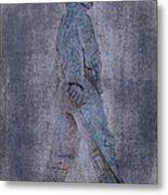 Soldier Statue Vii Alabama State Capitol Metal Print