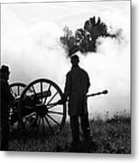 Confederate Twelve Pounder Fired - Perryville Ky Metal Print
