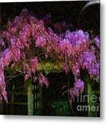 Confetti Of Blossoms Metal Print